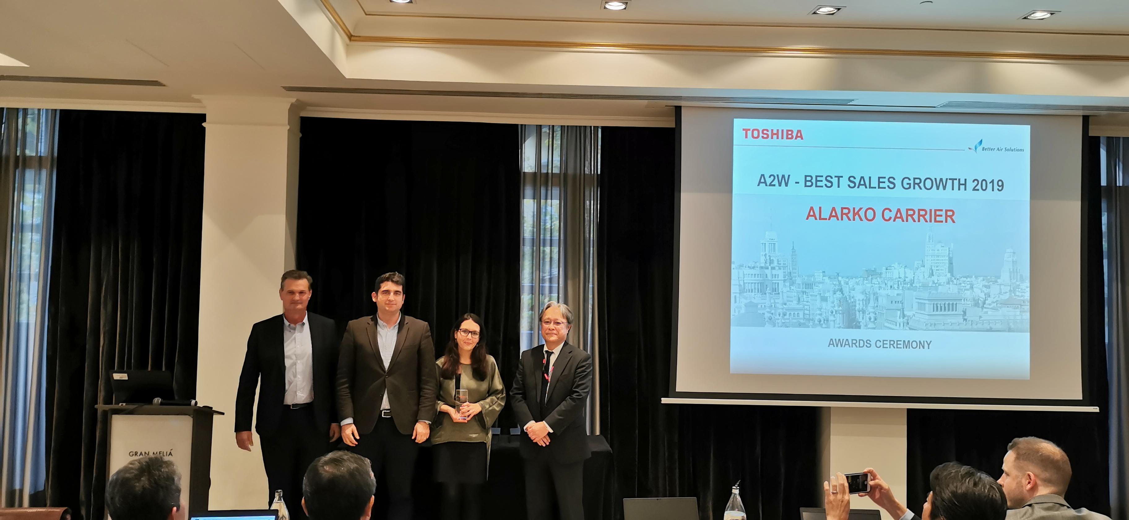 "Alarko Carrier Wins ""EMEA Region - The Best Sales Growth"" Award with its Heat Pump Product Range"